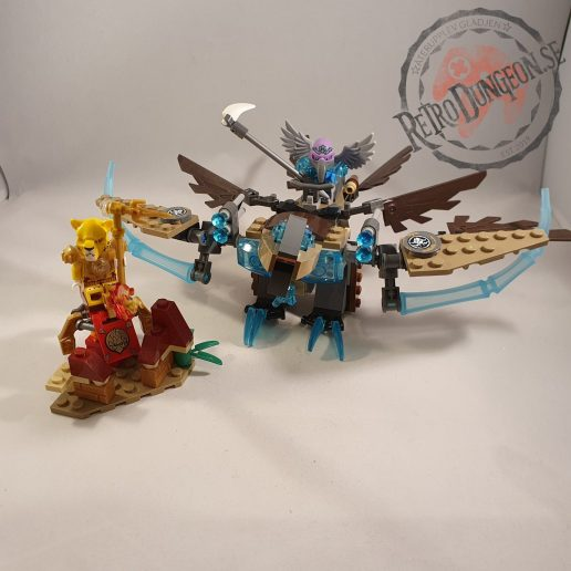 Lego Chima 70141 Vardy Ice Vulture Glider