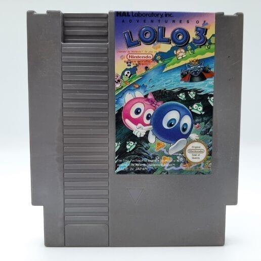 Adventures of Lolo 3 till Nintendo NES