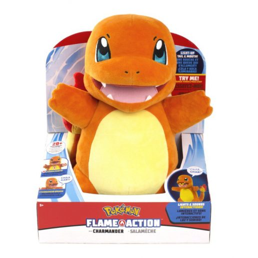 Pokemon Charmander Flame Action