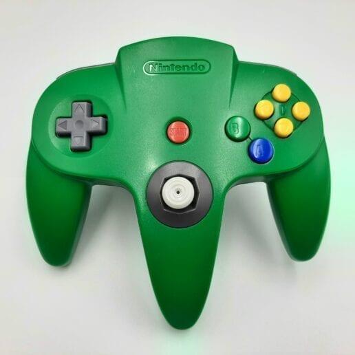 Handkontroll Grön Nintendo 64